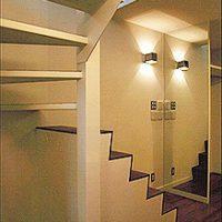 廻り階段。